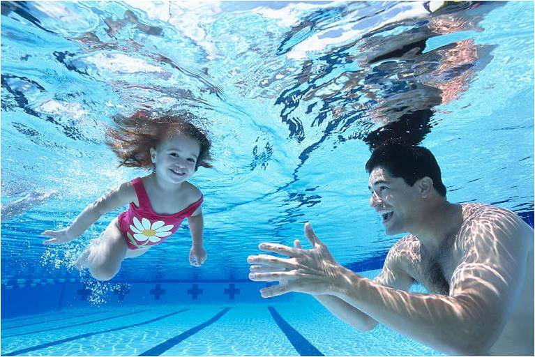 Swimming Pools For Water Treatment : Healthy swimming pool water treatment