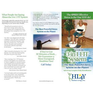 3-in-1 FIT Detox Foot Spa – Brochure, Small