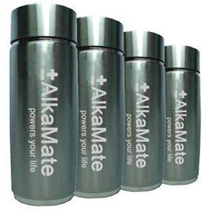 (4 Pack) AlkaMate Portable Alkaline Water Bottles