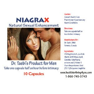 NiagraX Natural Sexual Enhancement