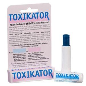 Toxikator – Self Testing pH Method