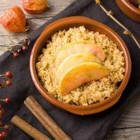 apple quinoa fusion breakfast